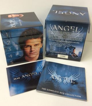 Angel: Complete DVD Collection [30 Discs] [Limited Edition #4386