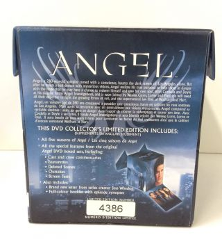 Angel: Complete DVD Collection [30 Discs] [Limited Edition #4386]
