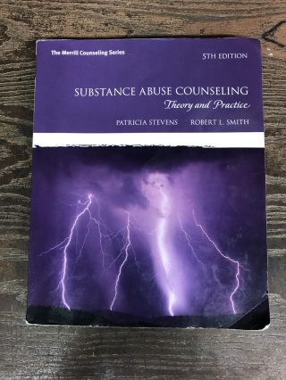 Substance Abuse Counseling: Theory and Practice (5th Edition) (Merrill Counseling (Paperback)....