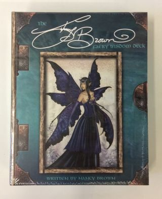 Amy Brown Faery Wisdom Deck with Instruction Booklet. Amy Brown