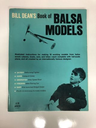 Bill Dean's Book of Balsa Models. Bill Dean