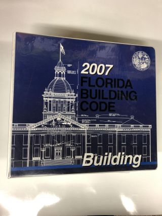 2007 Florida Building Code 1st (first) editon Text Only. International Code Council
