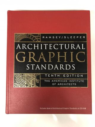 Architectural Graphic Standards. John Ray Hoke Jr., Charles George Ramsey