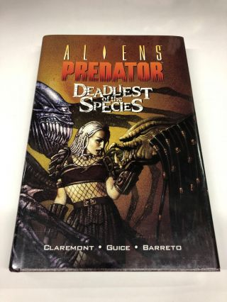 Aliens/Predator: Deadliest of the Species. Christopher Claremont