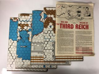 AH: Rise & Decline of the Third Reich, Game of WWII Grand Strategy, Board Game