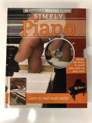 SIMPLY PIANO (Instant Master Class). Hinkler Studios
