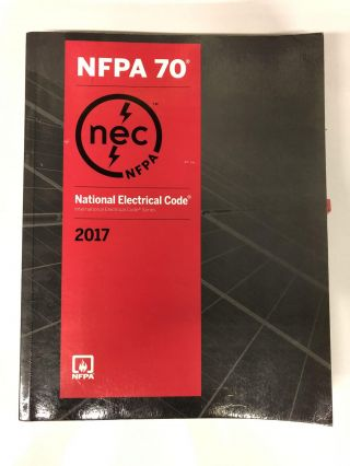 National Electrical Code 2017. NFPA, National Fire Protection Association