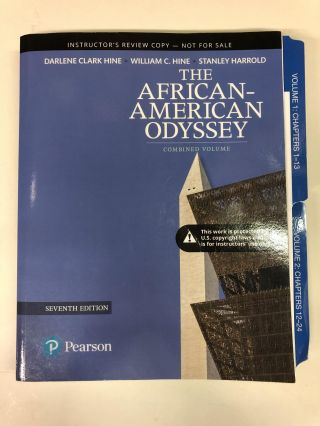 Revel for The African-American Odyssey, Combined Volume. Darlene Clark Hine