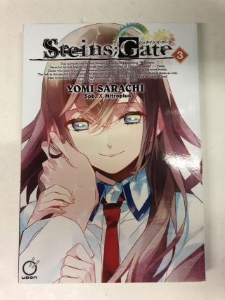 Steins;Gate Volume 3. Yomi Sarachi