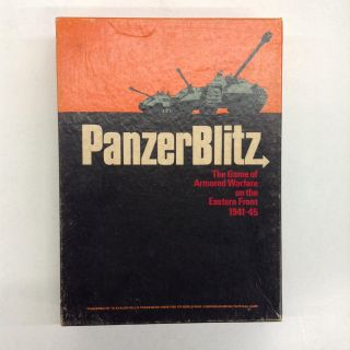 Panzer Blitz. The Avon Hill Game Company