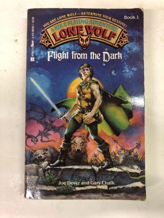 Flight from the Dark. Joe Dever, Gary Chalk
