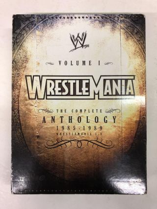 WWE WrestleMania: The Complete Anthology - Volume 1
