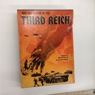 Rise and Decline of the Third Reich. The Avon Hill Game Company