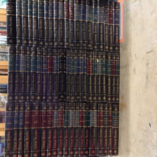 Britannica Great Books of the Western World Complete Set Burgundy (Complete in 60 Volumes)....