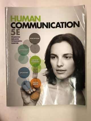 Human Communication. Judy Pearson