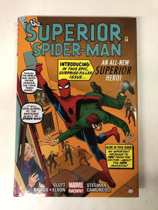 The Superior Spider-Man - Steve Ditko Variant Cover. Dan Slott