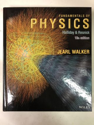 Fundamentals of Physics. David Halliday