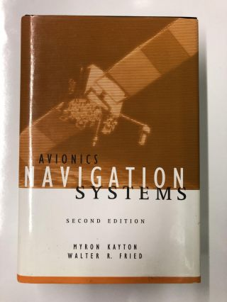 Avionics Navigation Systems. Myron Kayton, Walter R. Fried
