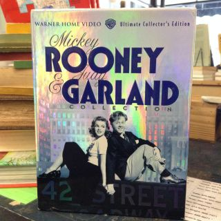 The Mickey Rooney & Judy Garland Collection. Warner Home Video