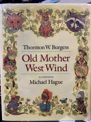 Old Mother West Wind. Thornton W. Burgess