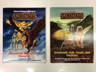 The City of Greyhawk (Advanced Dungeons and Dragons: Greyhawk Adventures) Boxed Set
