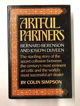 Artful Partners. Colin Simpson