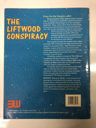 The Liftwood Conspiracy
