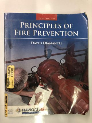 Principles of Fire Prevention. David Diamantes Diamantes