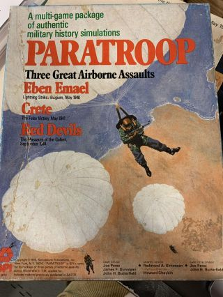 Paratroop; Three Great Airborne Assaults
