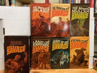 The Continuing Adventures of Doc Savage