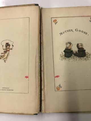 Mother Goose; Or, the Old Nursery Rhymes / Illustrated by Kate Greenaway