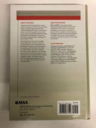 Unmanned Aircraft Systems (AIAA Education Series)