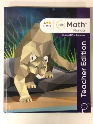 into Math: Grade 8 Pre-Algebra; Teacher Edition, Volume 2