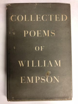 Collected Poems of William Empson. William Empson