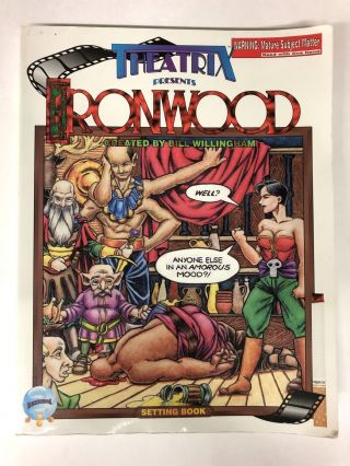Theatrix Presents Ironwood. Bill Willingham