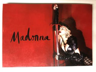 Madonna Rebel Heart Tour Commemorative Album