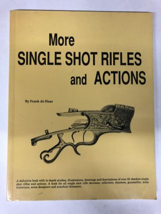 More Single Shot Rifles and Actions. Frank de Haas