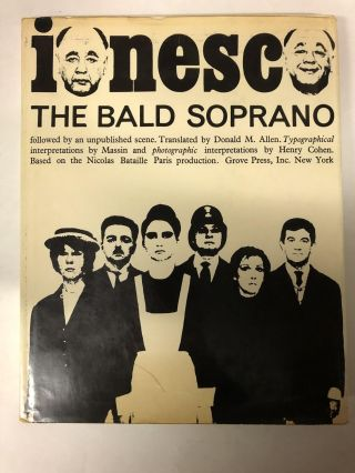 The Bald Soprano: anti-play, followed by an unpublished scene. Eugène Ionesco