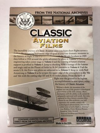Classic Aviation Films: A National Archives Collection