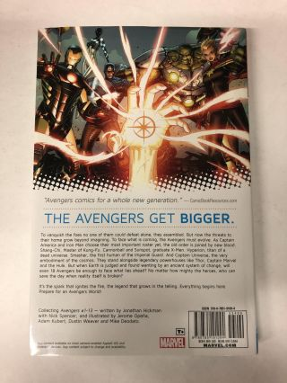 Avengers by Jonathan Hickman Volume 1