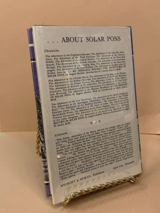 The Reminiscences of Solar Pons