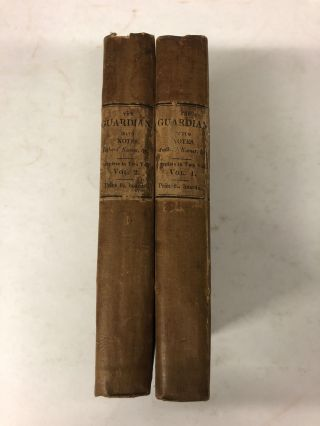 The Guardian with Notes and illustrations (2 volume set