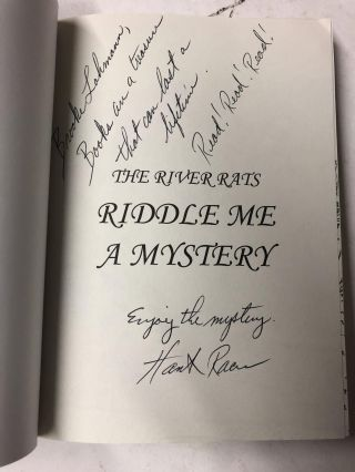 Riddle Me a Mystery (River Rats)