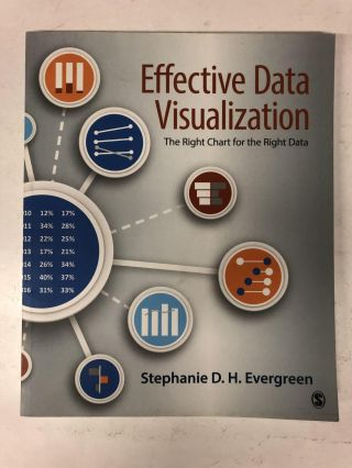Effective Data Visualization: The Right Chart for the Right Data. Stephanie Evergreen