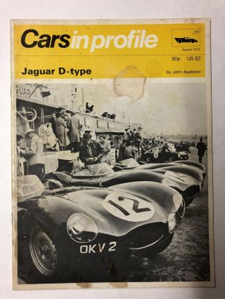 Cars in Profile No. 11: Jaguar D-Type. John Appleton