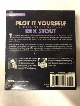 Plot It Yourself: A Nero Wolfe Mystery