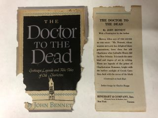 Doctor to the Dead; Grotesque Legends & Folk Tales of Old Charleston