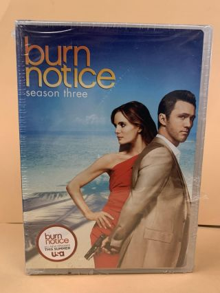 Burn Notice : Seasons 1-3