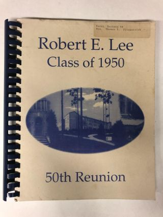 Robert E. Lee Class of 1950 50th Reunion