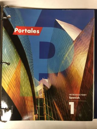 Portales 1st Ed Looseleaf Companion Text only. Jose A. Blanco